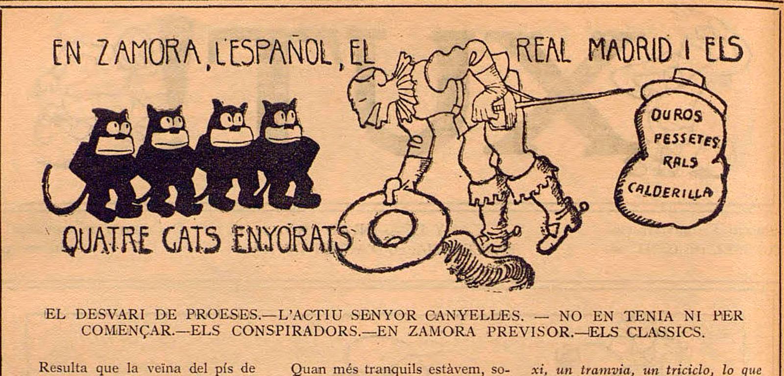Los cuatro gatos del Espanyol / XUT