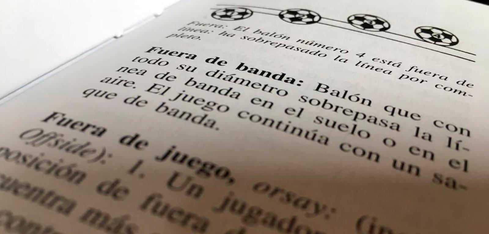 Diccionario de fútbol / PdF