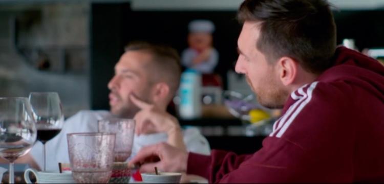 Leo Messi y Jordi Alba en 'Matchday' / MATCHDAY