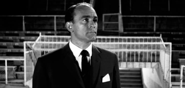 Alfredo Di Stéfano en la película 'La batalla del domingo' / 'LA BATALLA DEL DOMINGO'