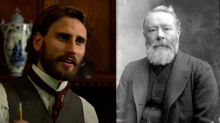 Edward Holcroft y Lord Arthur Kinnaird / UN JUEGO DE CABALLEROS - WIKIPEDIA
