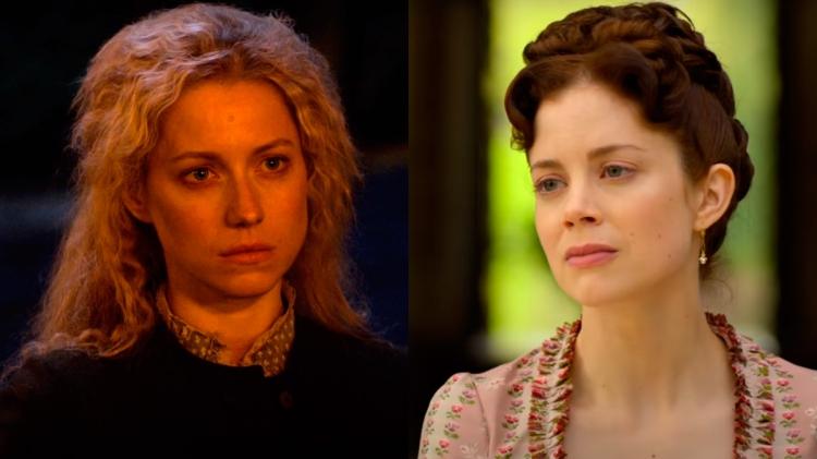 Niamh Walsh y Charlotte Hope en 'Un juego de caballeros'