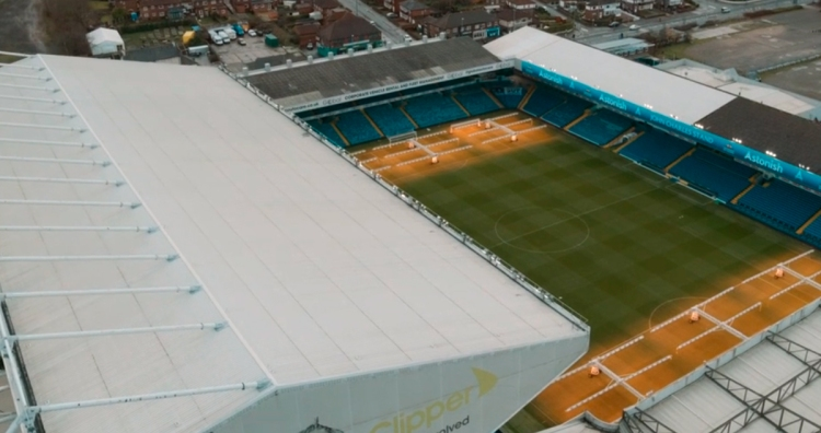 Elland Road, estadio del Leeds United / TAKE US HOME