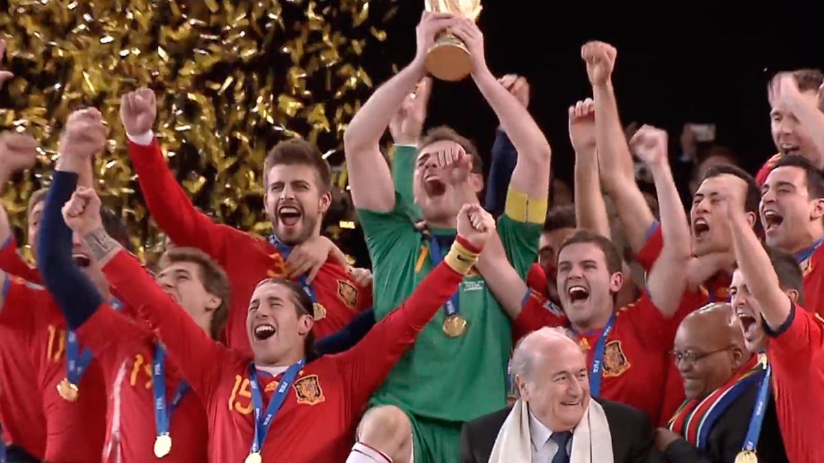 España, campeona del mundo en el Mundial del 2010, en Sudáfrica / 'LOS SECRETOS DE LA ROJA'