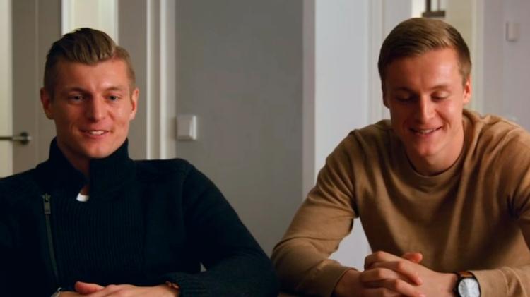 Los hermanos Kroos, Toni (i) y Felix (d) / 'KROOS'