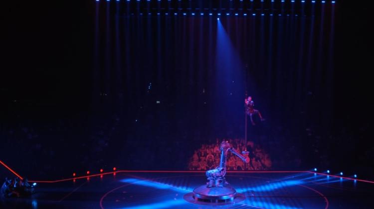 Una escena del espectáculo 'Messi10 by Cirque du Soleil / 'MESSICIRQUE'