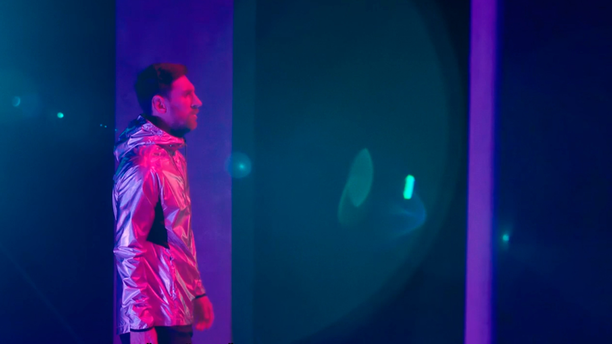 Leo Messi en el documental 'MessiCirque' / 'MESSICIRQUE'