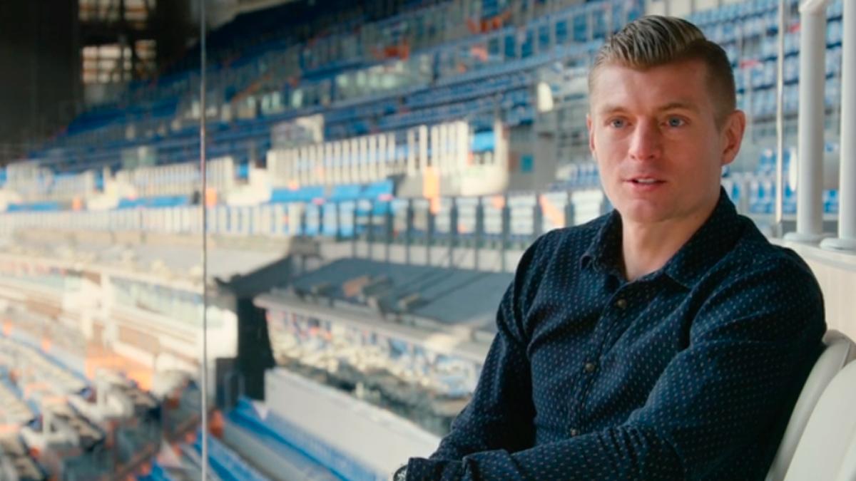 Toni Kroos en el Bernabéu / 'KROOS'