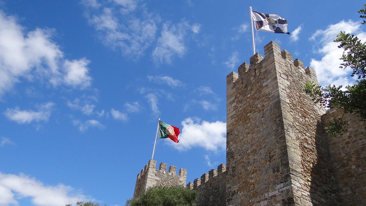 Castillo de San Jorge, en Lisboa / PdF