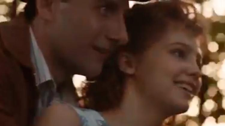 Lev Yashin (Aleksandr Fokin) y Valentina (Yuliya Khlynina) en 'El portero de mis sueños' / 'LEV YASHIN, EL PORTERO DE MIS SUEÑOS'
