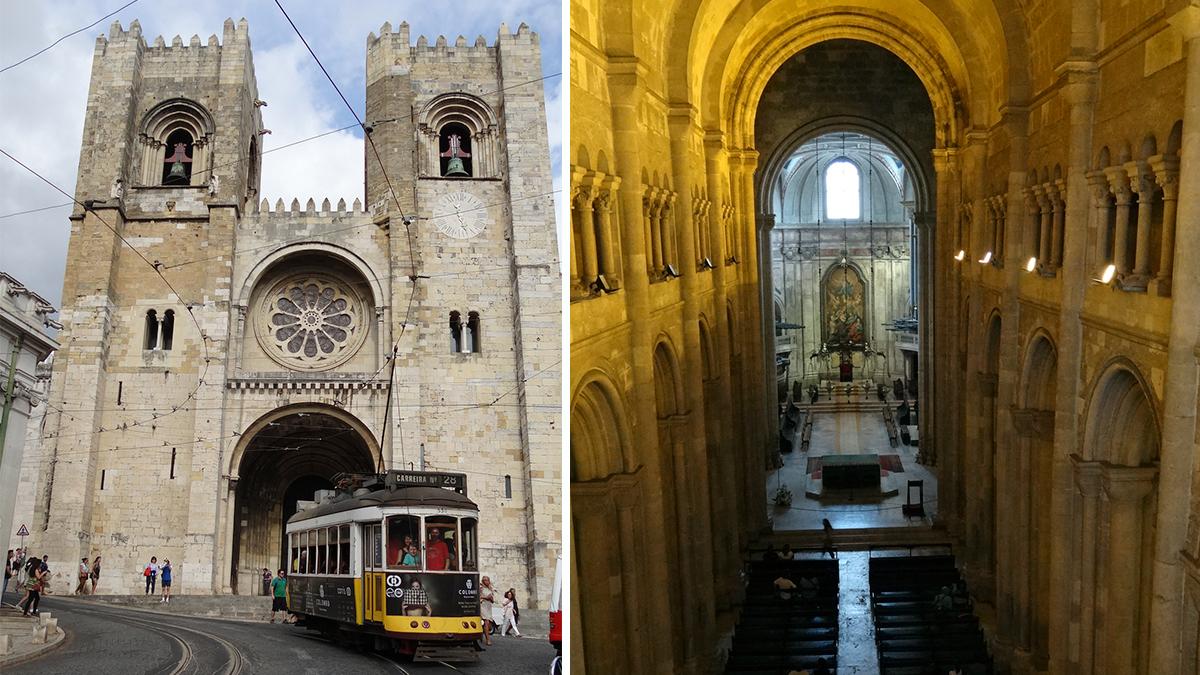 Catedral de Lisboa, conocida como Sé / PdF