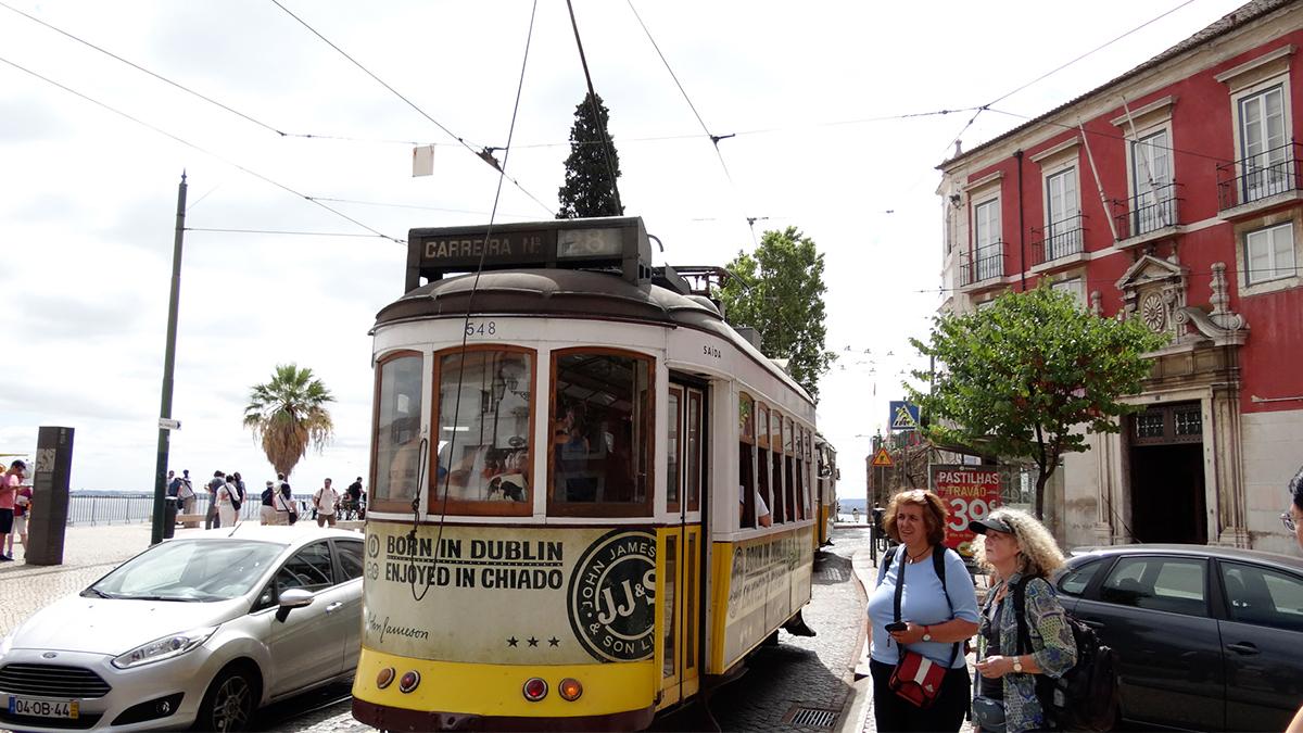 Tranvía 28 de Lisboa / PdF