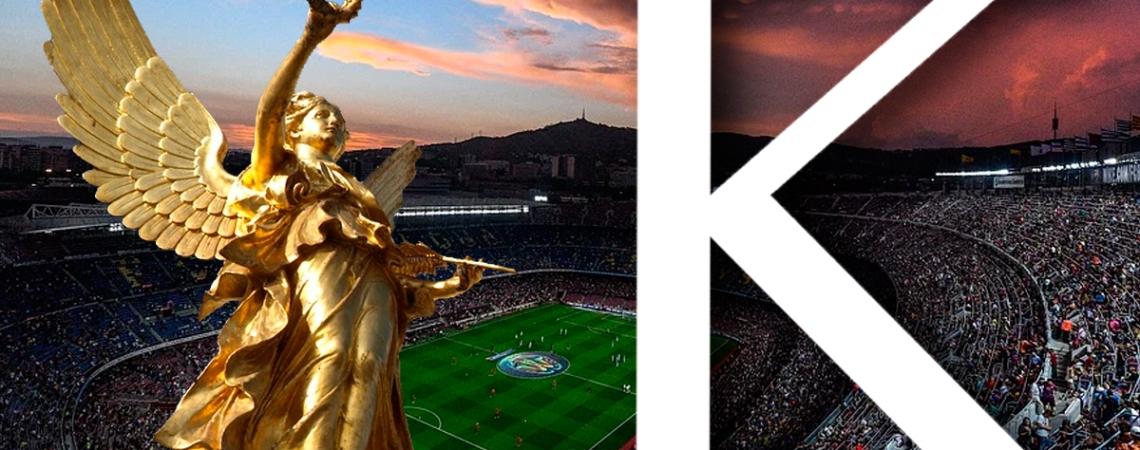 Nike y Kappa en el Camp Nou, el estadio del Barcelona