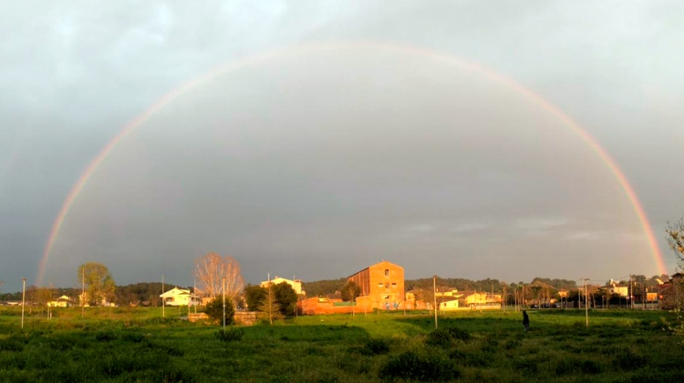 Un arcoíris / PdF