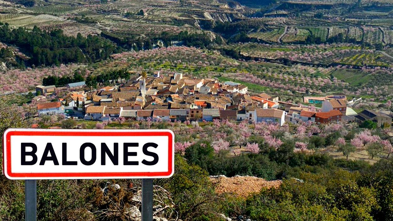 Balones, localidad de Valencia, España / FOTOMONTAJE DE PdF