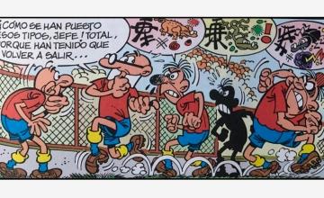 Mortadelo y Filemón en 'Un Mundial fatal' / PdF