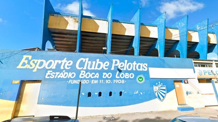 Estadio del Esporte Clube Pelotas, Brasil / GOOGLE STREET VIEW