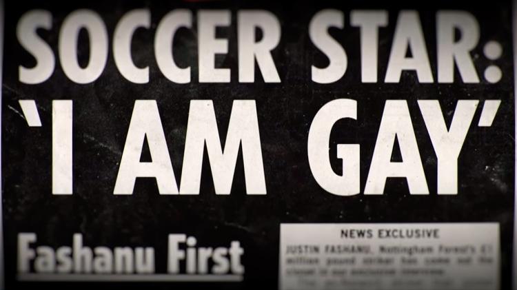 La portada de 'The Sun' con la confesión de Justin Fashanu / FORBIDDEN GAMES
