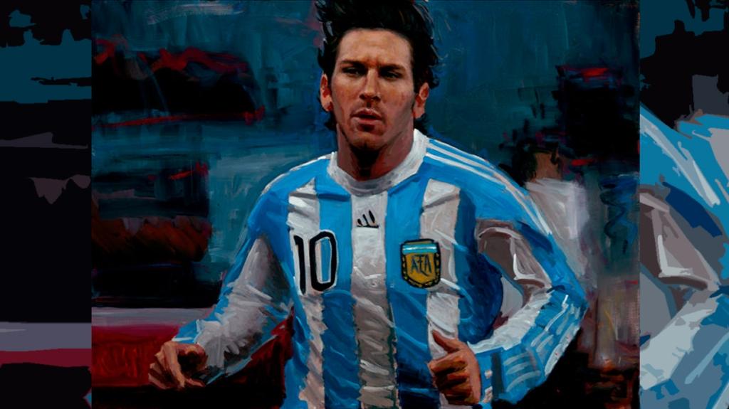 'Lionel Messi', de Fabián Pérez