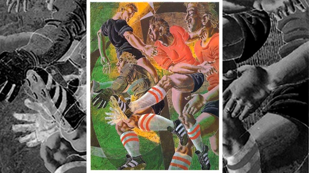 'Fútbol', de Hans Erni