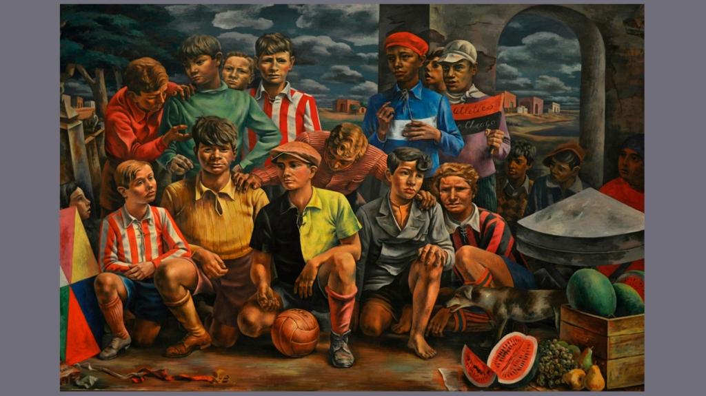 'Club Atlético Nueva Chicago', de Antonio Berni