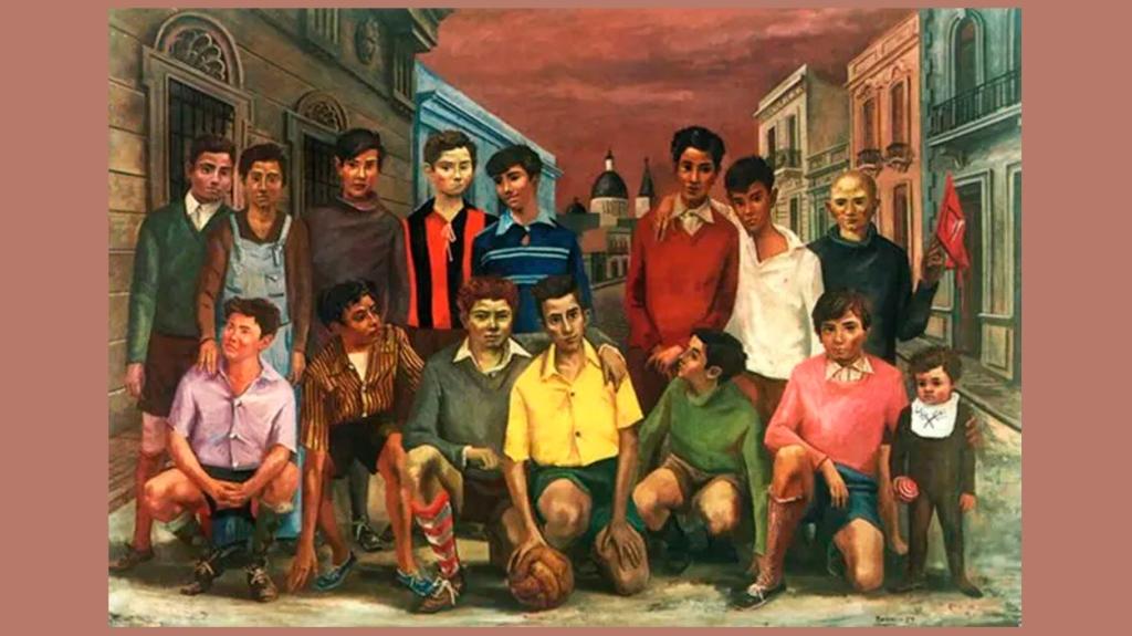 'Team de fútbol', de Antonio Berni