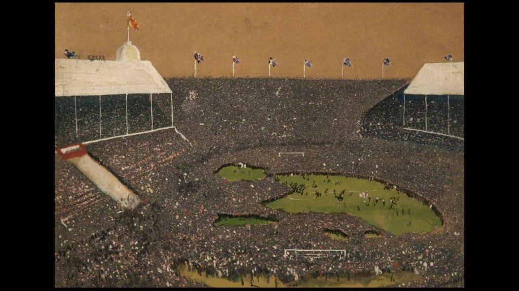 'Wembley 1923', de William Reginald Howe Browne