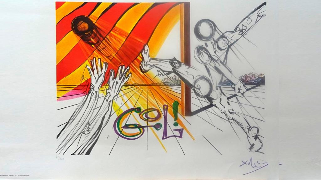 'Gol', de Salvador Dalí