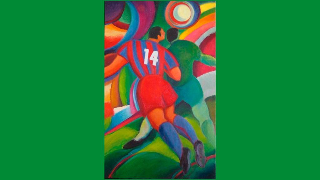 'Nº 14 (Barça)', por Guillem Martí Ceballos