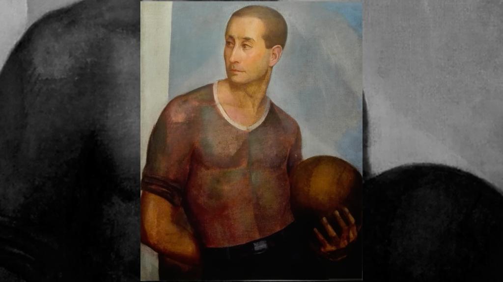 'El futbolista', de Ángel Zárraga