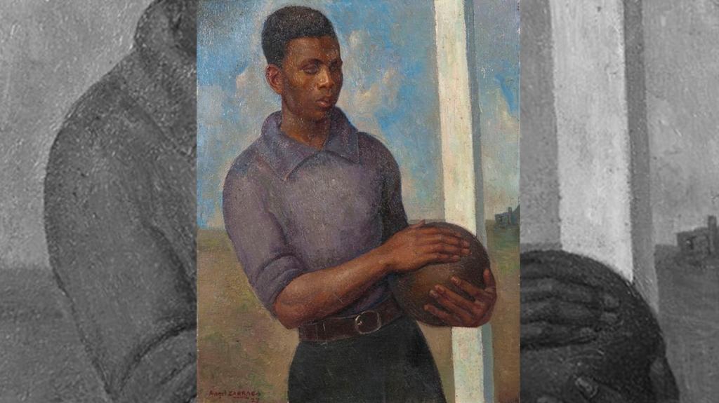 'El joven futbolista', de Ángel Zárraga