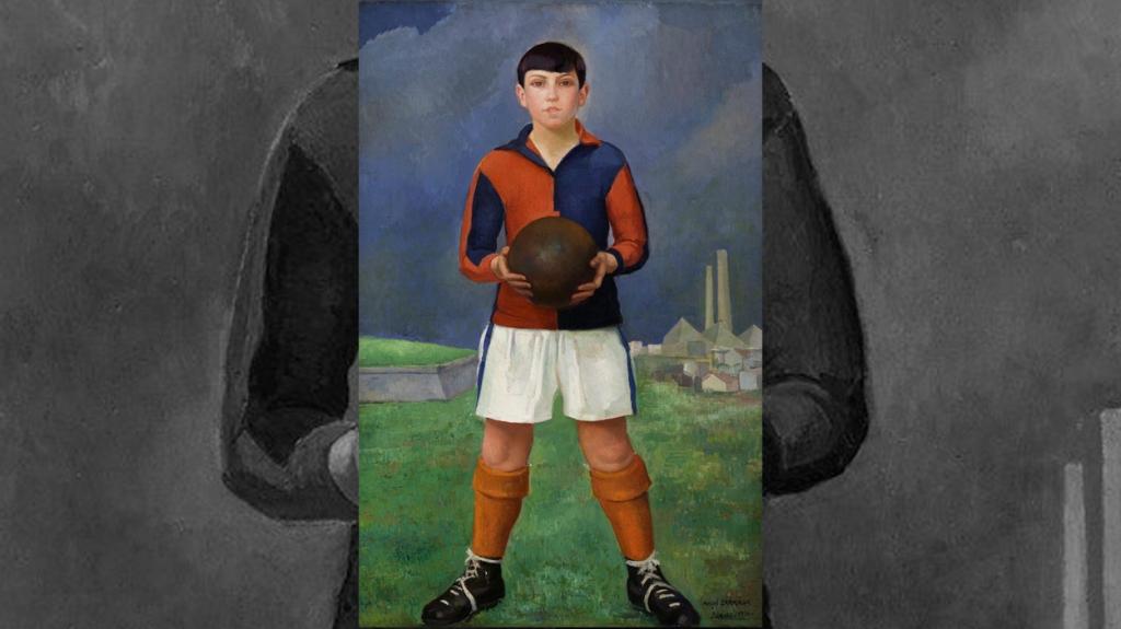'Joven futbolista', de Ángel Zárraga