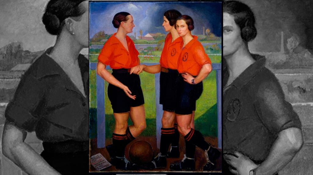 'Las futbolistas', de Ángel Zárraga