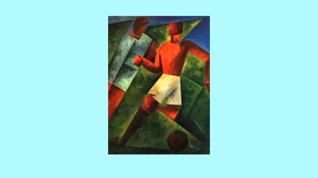 'Giocatore di pallone', de Iras Baldessari