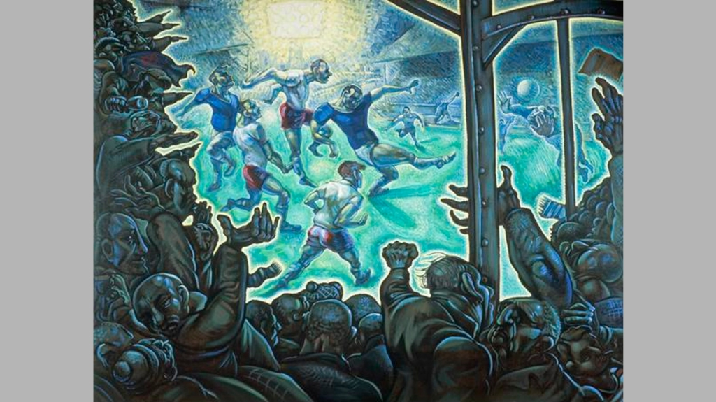 'Just Another Bloody Saturday', de Peter Howson