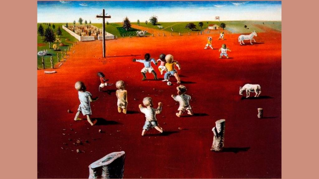'Fútbol', de Cándido Portinari