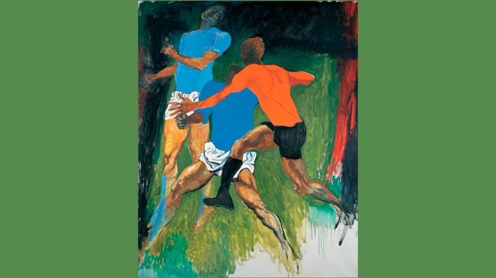 'Calciatori', de Renato Guttuso