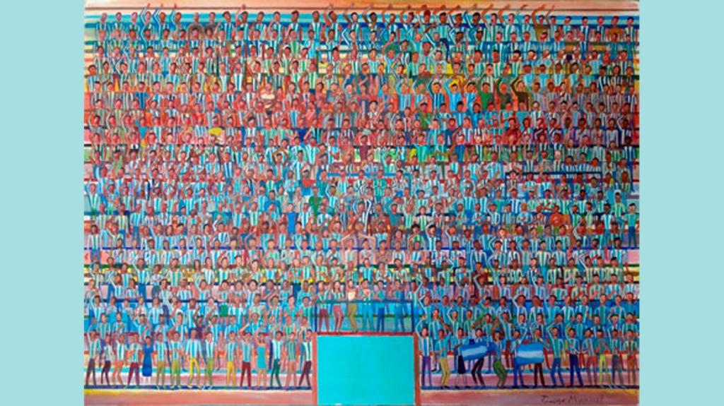 'La hinchada de Argentina', de Manuel Rodríguez