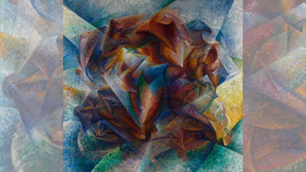 'Dynamism of a soccer player', de Umberto Boccioni