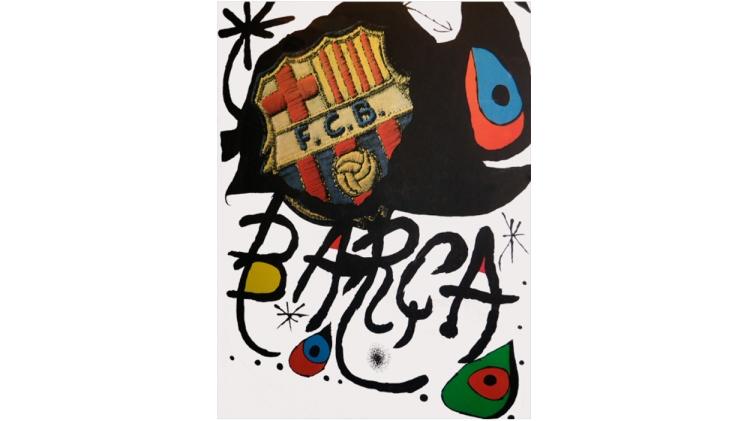 'Futbol Club Barcelona', de Joan Miró