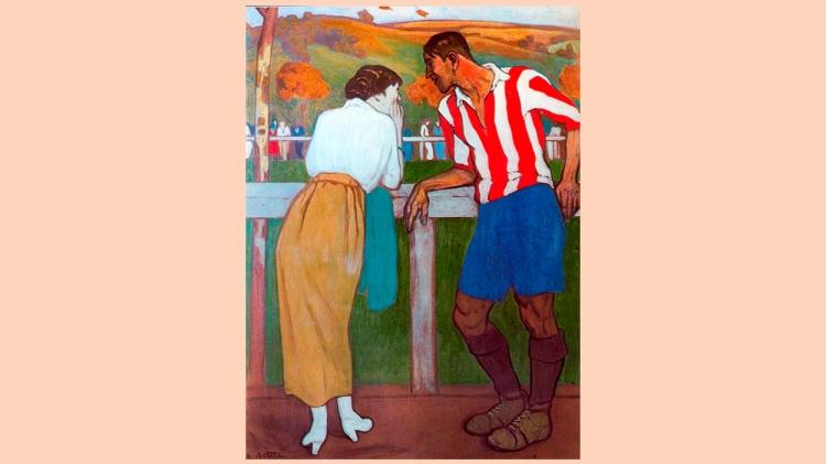 'Idilio en los Campos de Sport', de Aurelio Arteta