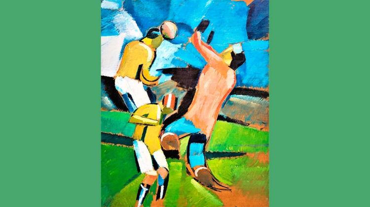 'Football Players', de Harald Giersing