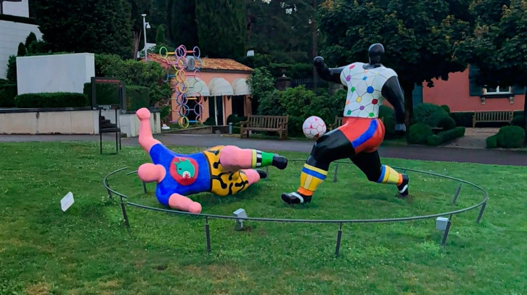 'Futbolistas', de Niki de Saint-Phalle