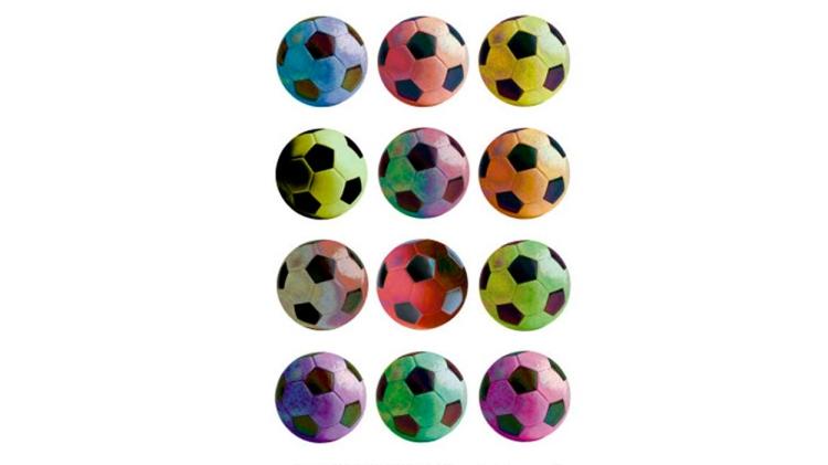 'Pop Art Soccer', de Anthony Mattos