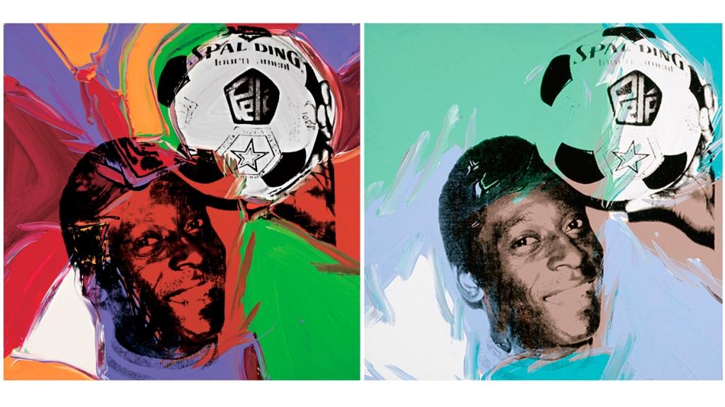 'Pelé', de Andy Warhol