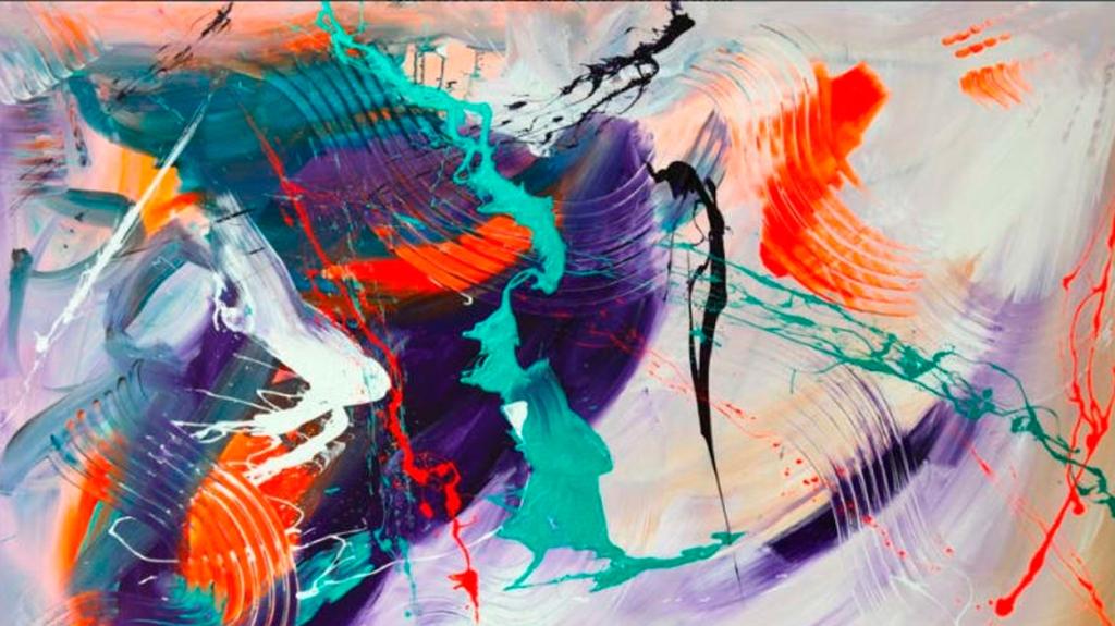 El estilo abstracto de Antonio Russo