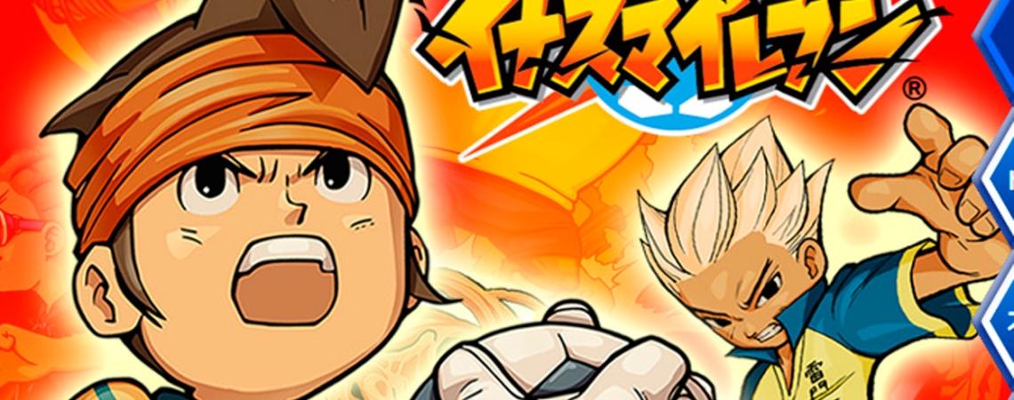 Mark Evans (i) y Axel Blaze (d), portada de un videojuego de 'Inazuma Eleven' / INAZUMA