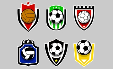 Escudos de equipos de fútbol / MACROVECTOR - PdF