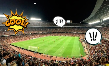 Onomatopeyas en un partido de fútbol / PdF