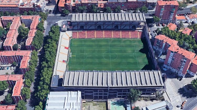 Campo de fútbol de Vallecas / GOOGLE MAPS